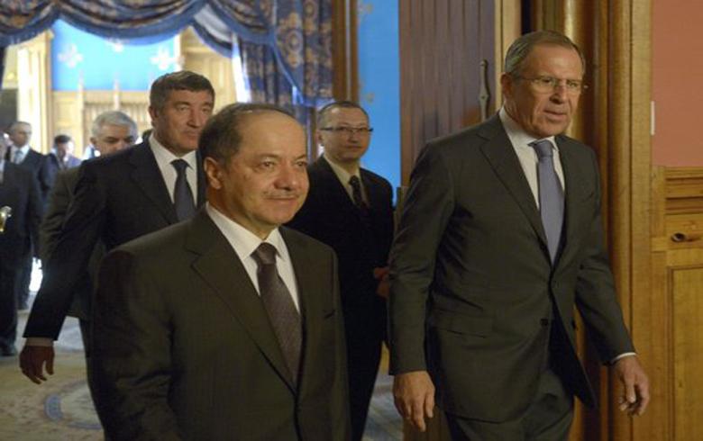 سیرغي لافروف یلتقي الرئيس مسعود بارزاني الشهر المقبل
