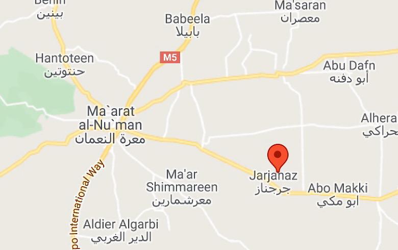 النظام السوري يسيطر على بلدة جرجناز