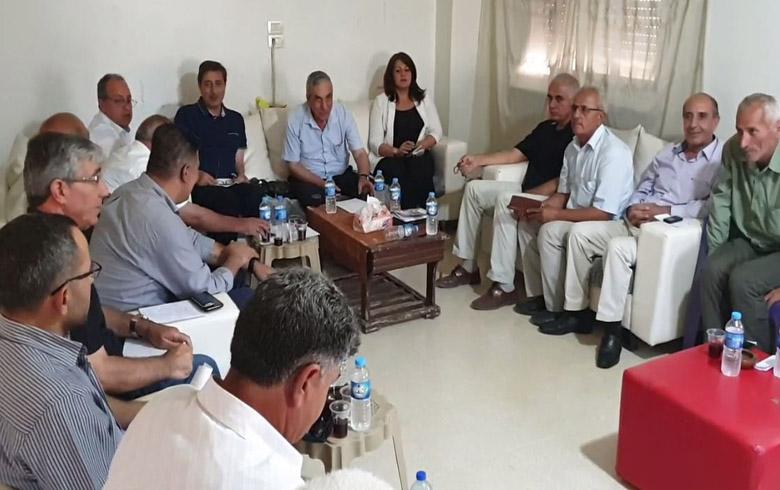 رئيس المجلس الوطني يجتمع برؤساء المجالس المحلية