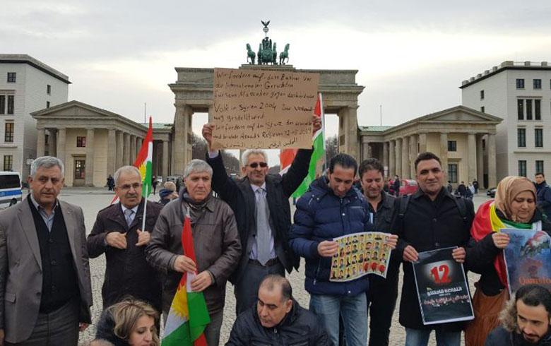ممثلية أوربا للمجلس الوطني الكردي محلية «برلين» تحيي الذكرى السنوية الخامسة عشرة لإنتفاضة الثاني عشر من آذار عام  2004