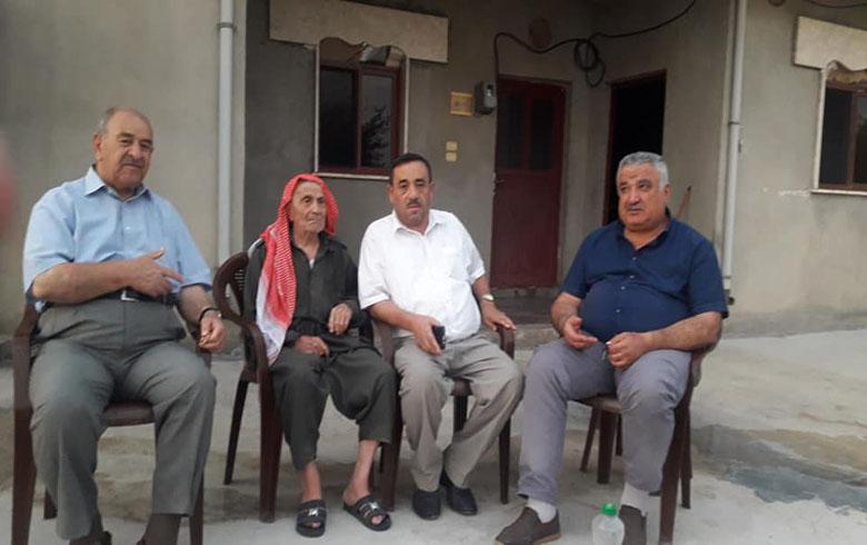 وفد من المجلس الوطني یزور البیشمركە علی رشید فی دیرك
