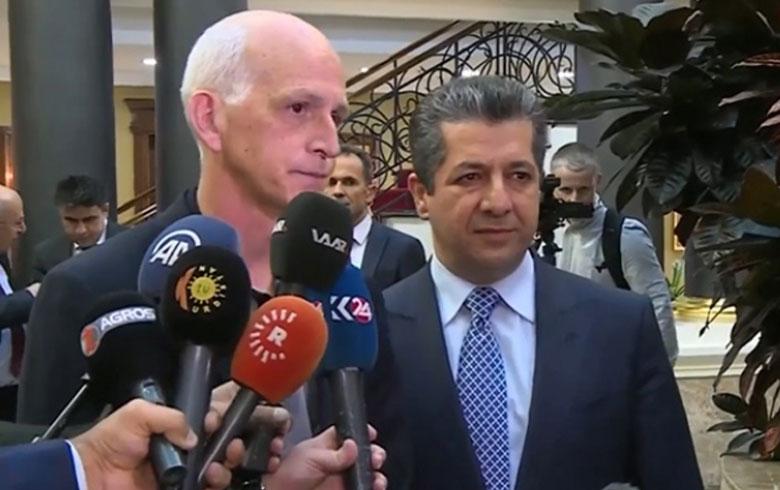 آدم سميث : نحاول خلق سوريا جديدة يكون للكورد فيها دورا قويا