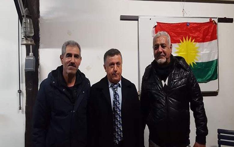 المبعوث الخاص للرئيس مسعود بارزاني يزور مقر منظمة آرارات في سويسرا