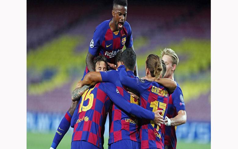 إصابة لاعب في برشلونة بفيروس كورونا!