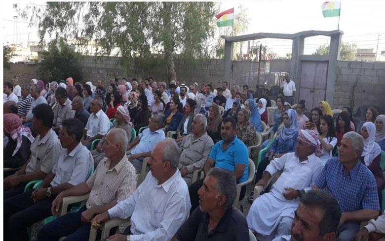 مكتب التنظيم العام لـ PDK-S يعقد ندوة تنظيمية سياسية في بلدة جل آغا