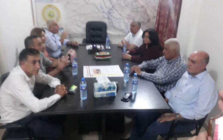 وفد من الحزب يكيتي الكوردستاني – سوريا يزور مكتب الـ PDK-S في كركي لكي