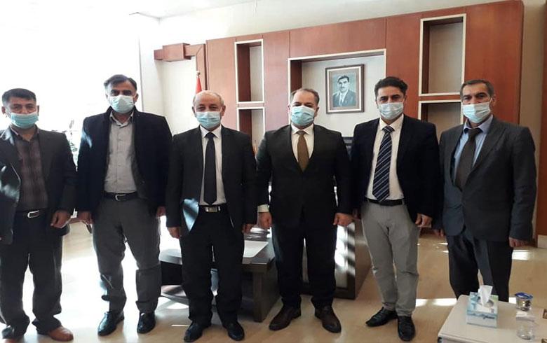 وفد من منظمة دوميز للـ PDK-S يزور المديرية العامة لصحة دهوك