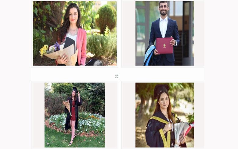 تخرُّج العشرات من طلاب عفرين من جامعة حلب