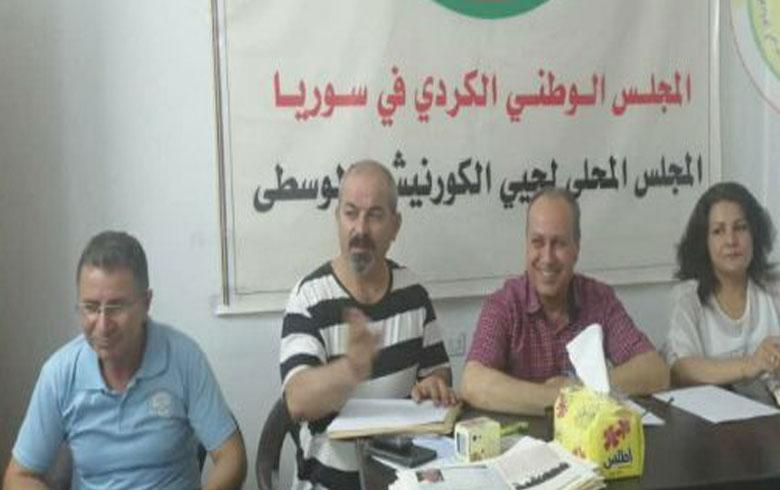 المجلس المحلي في الكورنيش والوسطى يعقد اجتماعه الاعتيادي