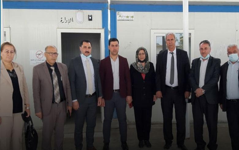 مخيم كوركوسك.. ممثلية إقليم كوردستان لـENKS تعقد سلسلة اجتماعات
