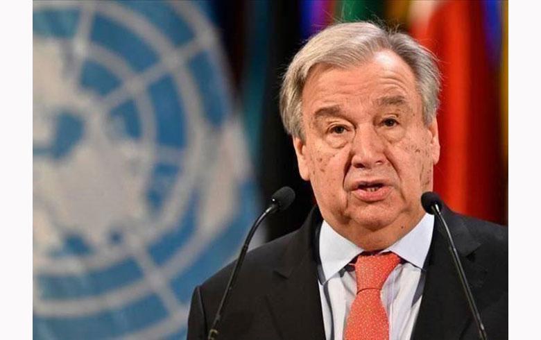غوتيريش يحذر: العالم يعيش في ظل كارثة نووية