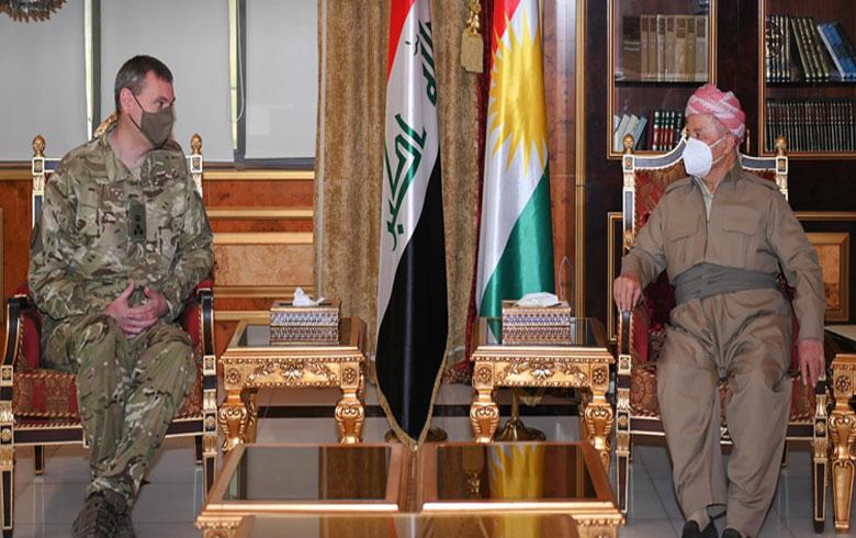 الرئيس بارزاني والتحالف الدولي يشيدان بمساعي إنشاء قوة مشتركة بين أربيل وبغداد