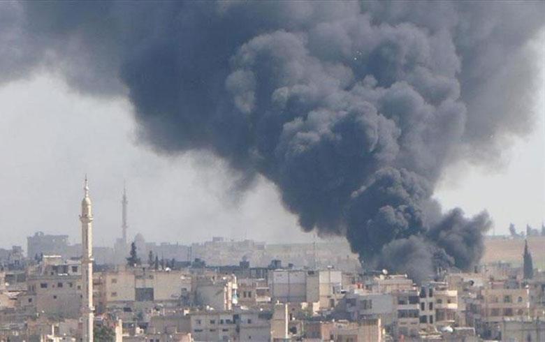 Di encama êrîşên Rêjîm û Rûsiyê 49 kes li Bakurê Sûriyê hatine kuştin