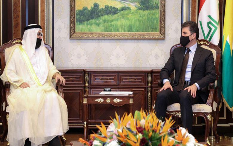 نيجيرفان بارزاني يتلقى دعوة لزيارة الإمارات ويعد بتلبيتها في الوقت المناسب
