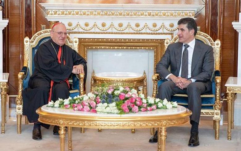Dêra Kildanî li Iraq û cîhanê, pîrozbahî li Serokê Herêma Kurdistanê kir