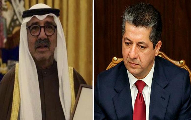 رئيس حكومة اقليم كوردستان يعزي الكويت