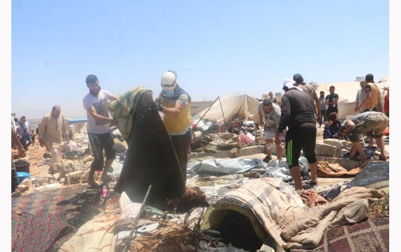 Idlib.. Agir bi kampeke derbederan ket