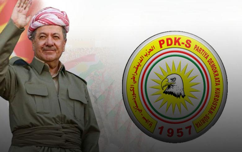 الحزب الديمقراطي الكوردستاني-سوريا يوجه رسالة تهنئة للرئيس بارزاني