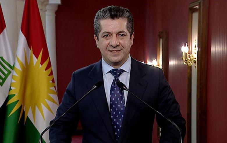 مسرور بارزاني يدعو مواطني كوردستان للالتزام بالإجراءات الصحية