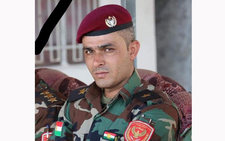 استشهاد ضابط في قوات بيشمركة لشکرێ رۆژ