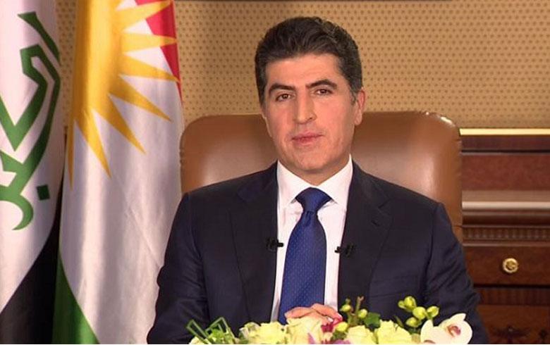 رئيس إقليم كوردستان يدين إحراق مقر الحزب الديمقراطي الكوردستاني في بغداد