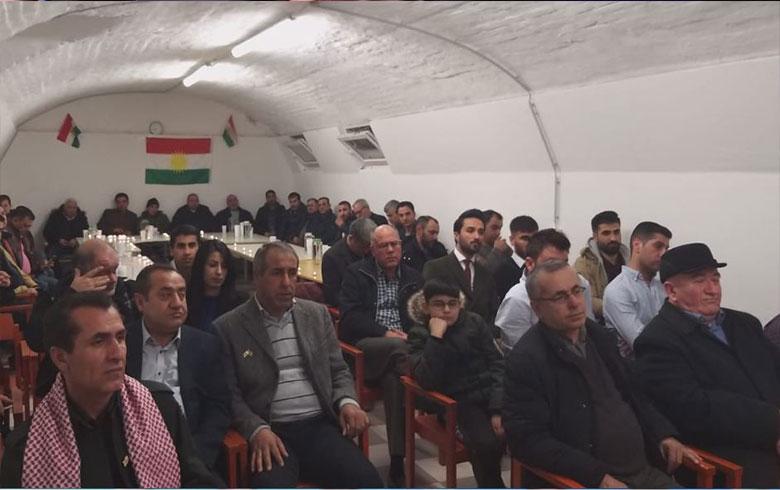 ممثلية أوربا للمجلس الوطني الكردي محلية «نمسا» تحيي الذكرى السنوية الخامسة عشرة لإنتفاضة الثاني عشر من آذار عام  2004