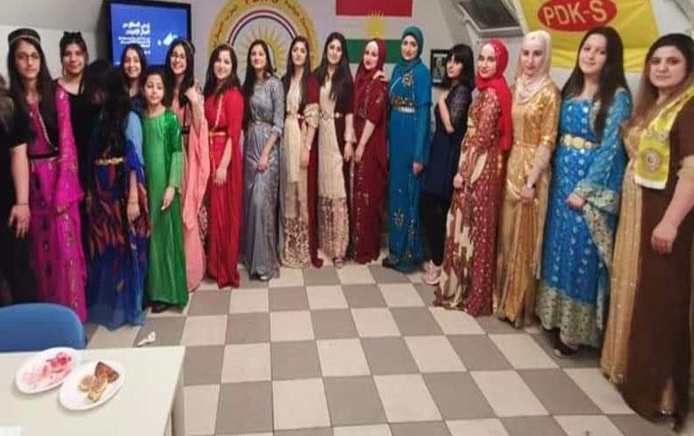 نمسا... منظمة المرأة لـ PDK-S تحتفل بعيد المرأة ويوم الزي الكوردي
