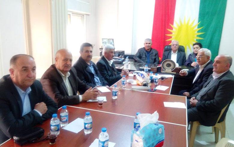 مكتب التنظيم العام لـ PDK-S يعقد اجتماعه الاعتيادي في قامشلو