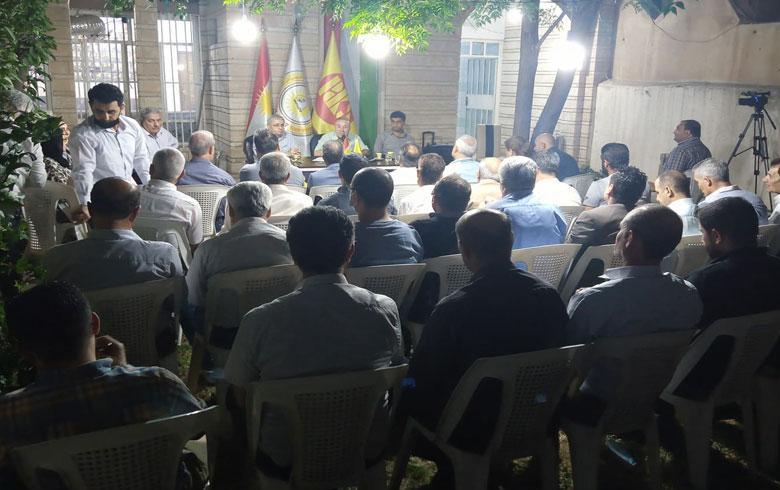 منظمة هولير لـPDK-S تنظم ندوة سياسية تنظيمية بمناسبة الذكرى السنوية الـ64 لميلاد الحزب