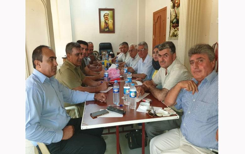 مسؤول مكتب الإعلام المركزي للحزب الديمقراطي الكوردستاني- سوريا يلتقي مع إعلاميي الحزب