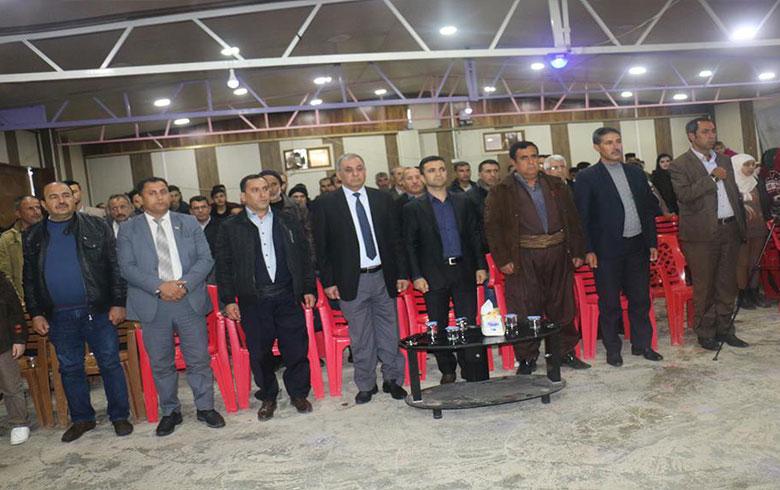 Rêxistina kampa Qoştepe ya PDK-Sê ȗ YXCDKR dê jidayikbȗna  Barzaniyê nemir vejand