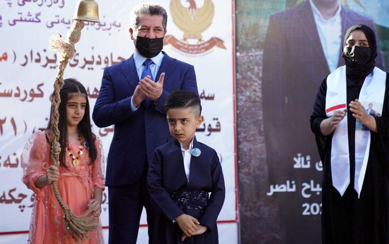 رئيس حكومة إقليم كوردستان يهنئ التلاميذ والطلبة بانطلاق العام الدراسي الجديد