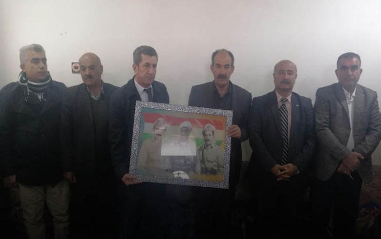 وفد من منظمة روژ للكوردستاني - سوريا يزور منزل الشهيد نصر الدين برهك