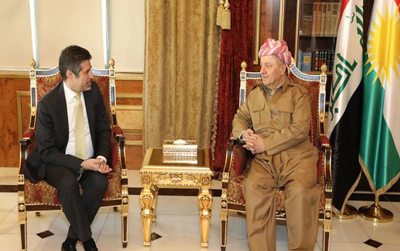 الرئيس بارزاني يدعو امريكا والتحالف الدولي الى منع حدوث كوارث للكورد في كوردستان سوريا