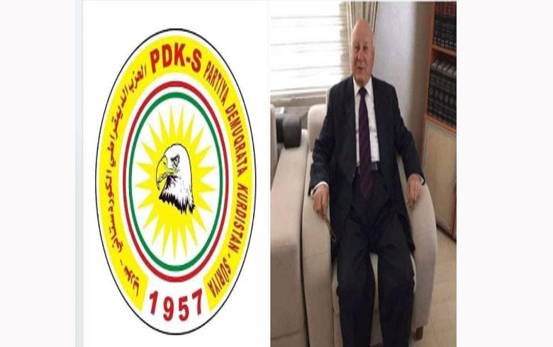دائرة تنظيم ( تركيا – كوباني ) لـ PDK-S تعزي برحيل دوريش سعدو
