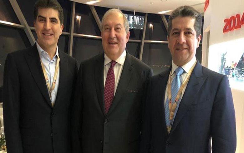رئيسا إقليم كوردستان والحكومة يلتقيان زعماء خليجيين وعالميين في زيارة للإمارات