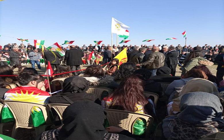 الحزب الديمقراطي الكوردستاني – سوريا يحيي  الذكرى السنوية التاسعة لاستشهاد المناضل نصرالدين برهك