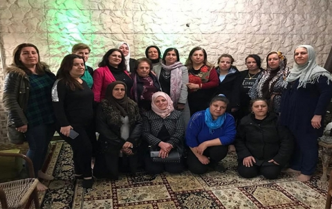 تكريم الكاتبة والشاعرة الكردية