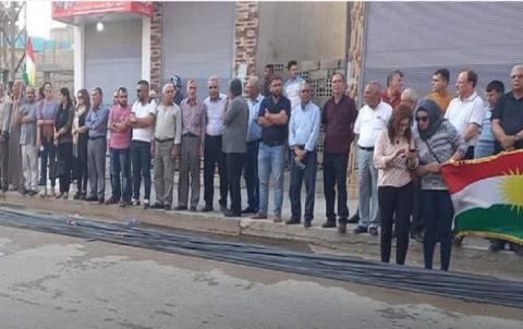 ENKSê salvegera 5an ya teqîna terorî li bajarê Qamişlo vejand