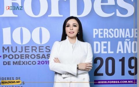 شابة كوردية تصنف كأقوى امرأة مؤثرة في المكسيك