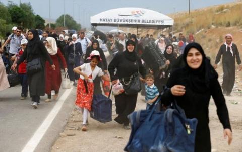 أكثر من ألف لاجئ في تركيا يعودون
