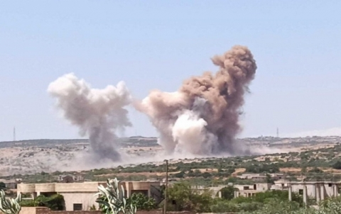 الائتلاف السوري : تصعيد النظام وروسيا في الشمال ينذر بكارثة