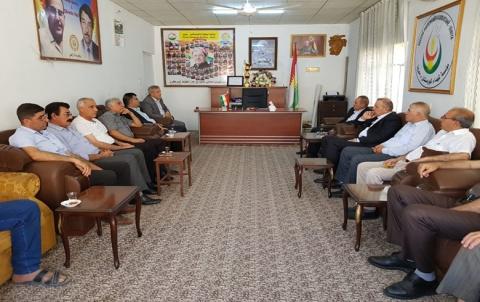 وفدان من لقي 8 لـ PDK وبلدية زاخو یزوران مكتب تنظيم زاخو لـ PDK-Sê