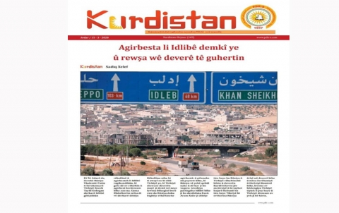 Rojnameya Kurdistan - 169 - Kurdî