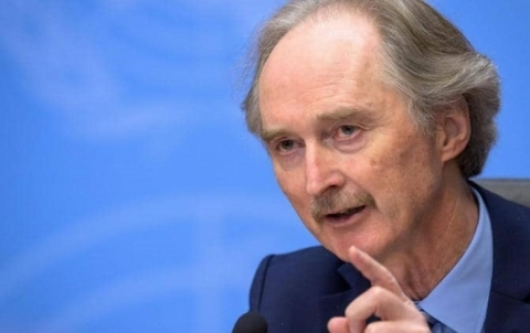 المبعوث الأممي لسوريا: آمل بالمضي في عمل اللجنة الدستورية