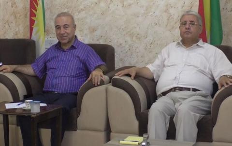 الـ PDK-S یناقش اخر التطورات الميدانية والسياسية في كوردستان سوريا