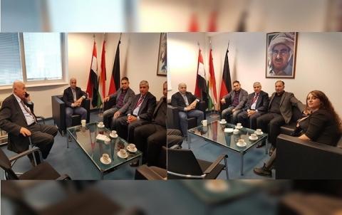 وفد من الـ PDK-S يجتمع مع ممثل إقليم كوردستان في ألمانيا