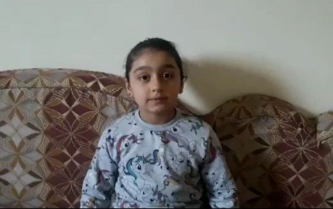 طفلة من قامشلو تطلق حملة