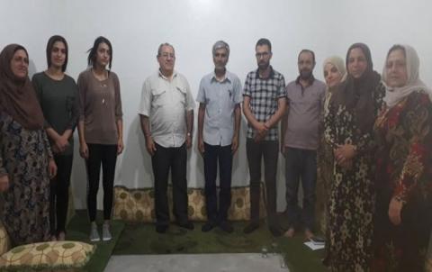 المجلس الفرعي لحي الهلالية التابع لـ ENKS يعقد اجتماعه في قامشلو