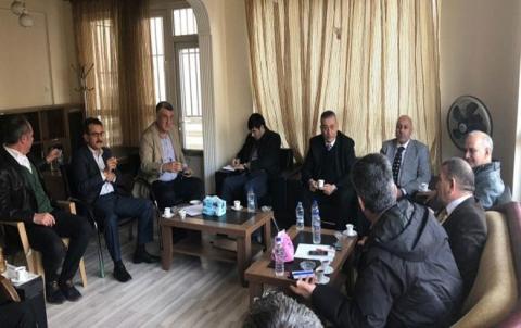لقاء بين ممثلين عن ENKS في كوباني وممثلين عن لجنة الجزيرة والفرات في الائتلاف السوري المعارض